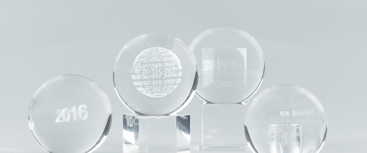 Decorative glass balls