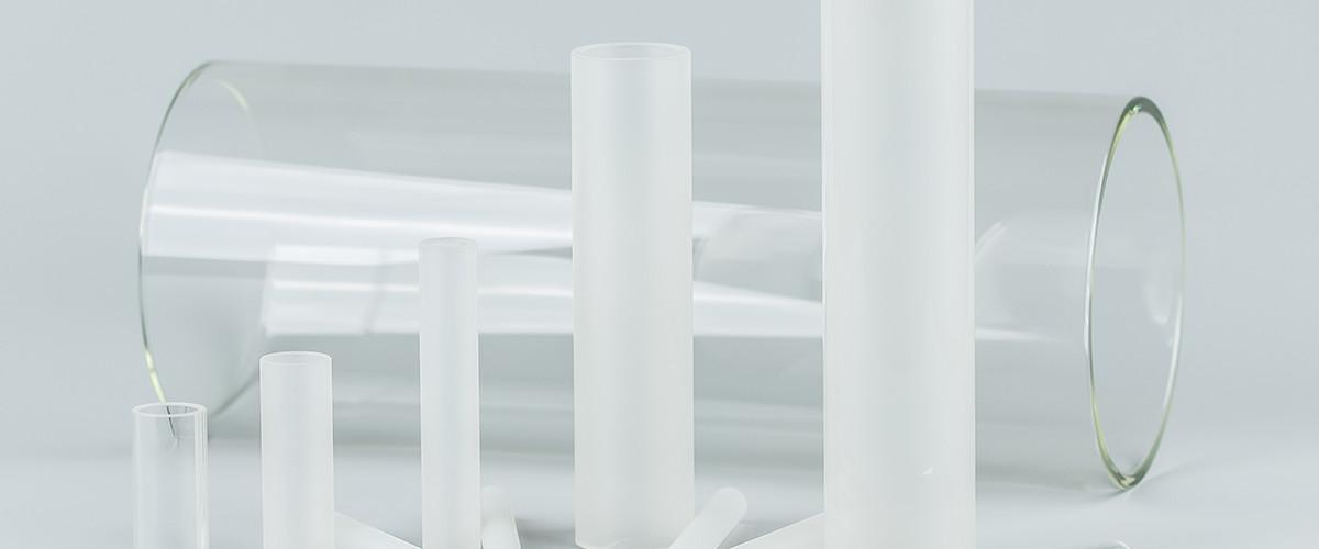 glaszylinder glasrohre offen oder mit boden glaskugeln. Black Bedroom Furniture Sets. Home Design Ideas