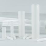 Glaszylinder, KPG-Rohrabschnitte
